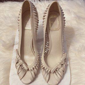 Christian Dior Leather Kitten Heel